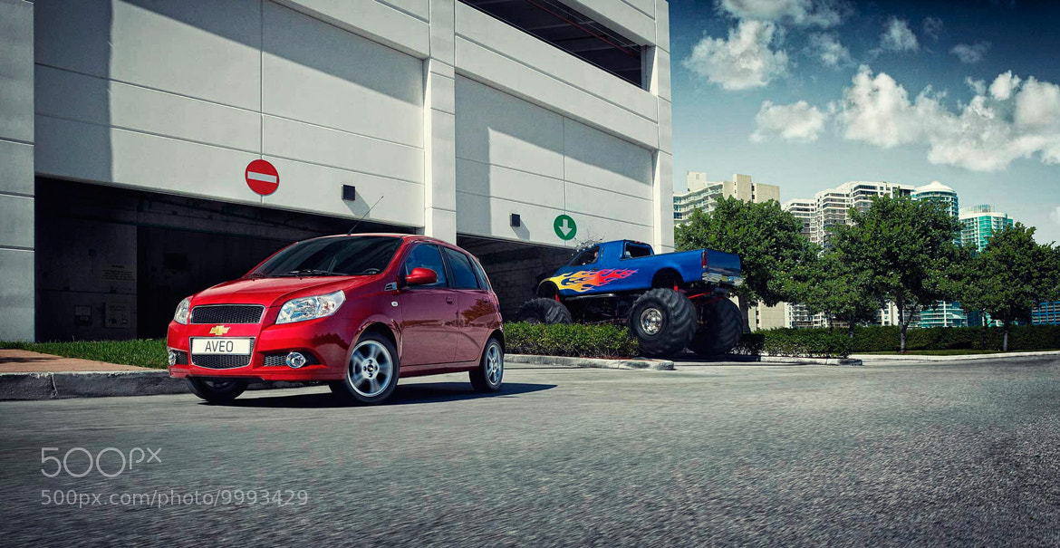 Photograph Chevrolet Aveo by Nigel Harniman on 500px