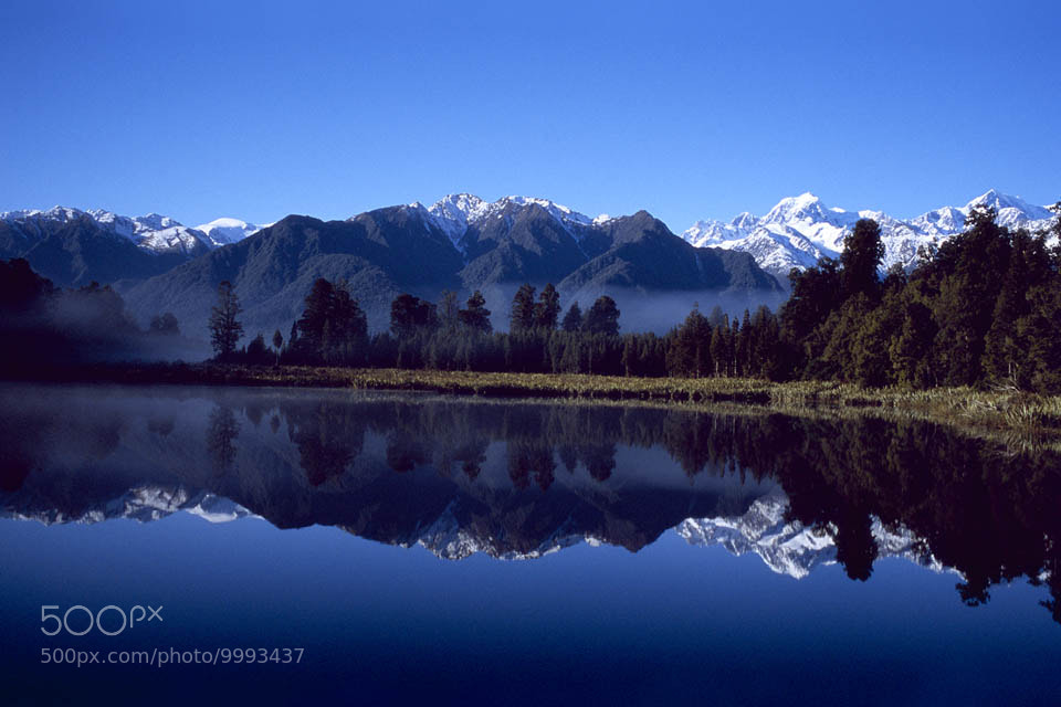 Photograph Lake Matheson by Paula Smith on 500px