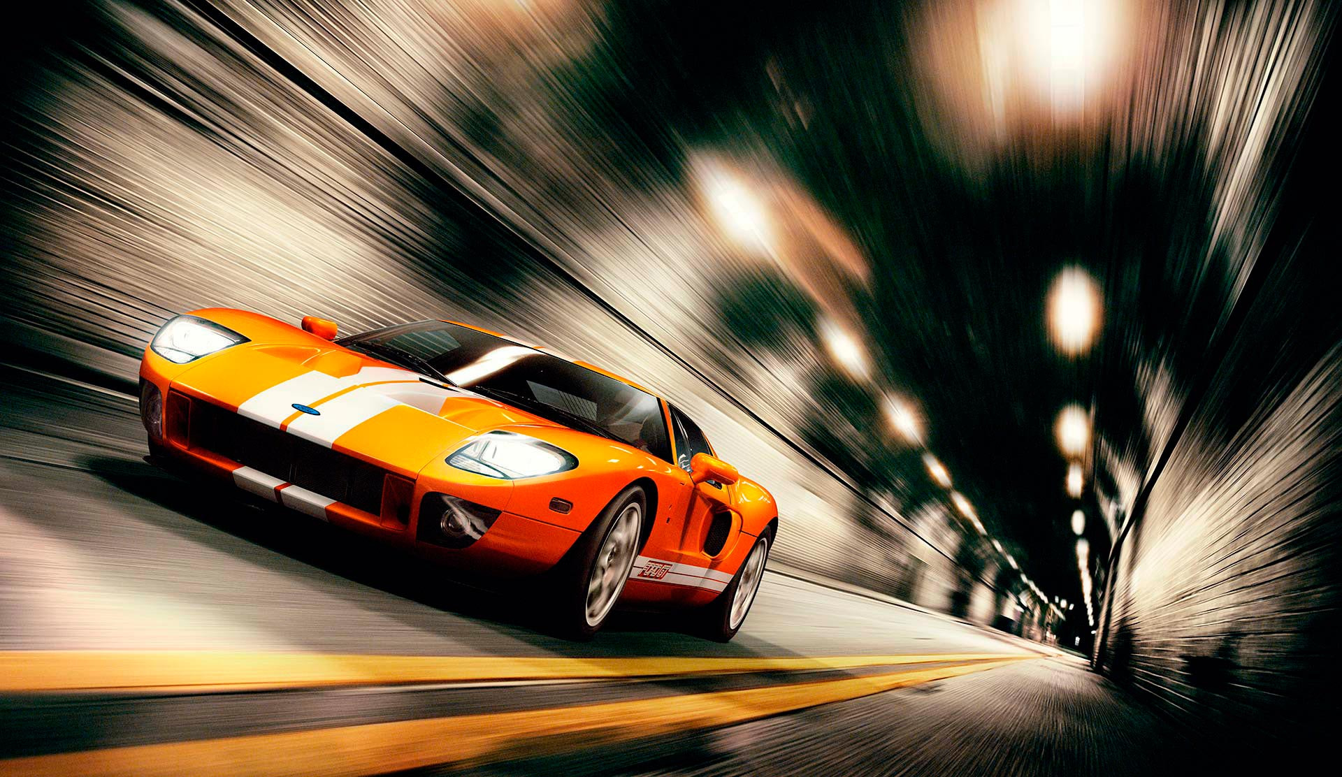 Photograph Ford GT by Nigel Harniman on 500px