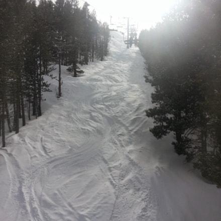 Chairlift in Andorra