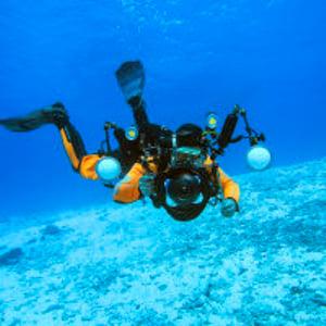 HAWK化妆潜水摄影